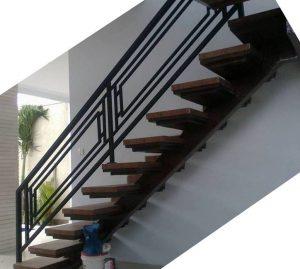 jasa pembuatan railing tangga stainless di medan
