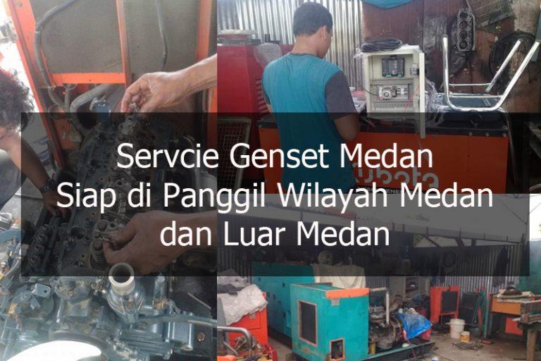 Jasa Service GENSET Di Medan – 085246303303